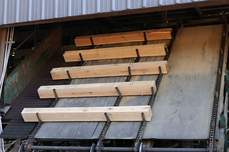 Railroad ties by Madison County Wood Pro