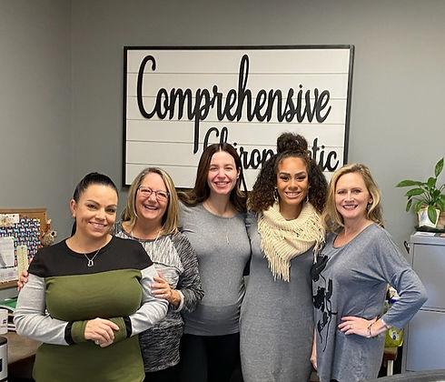 Comprehensive Chiropractic team - Eureka