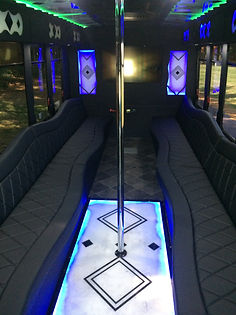 High Roller Limo Bus Interior - All Abou