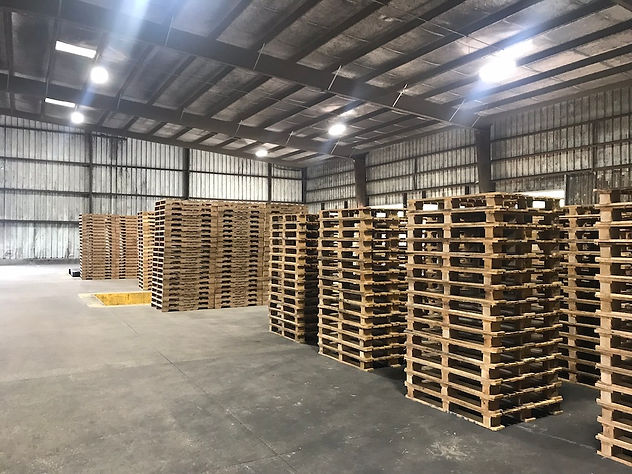 Pallets Warehouse - Madison County Wood