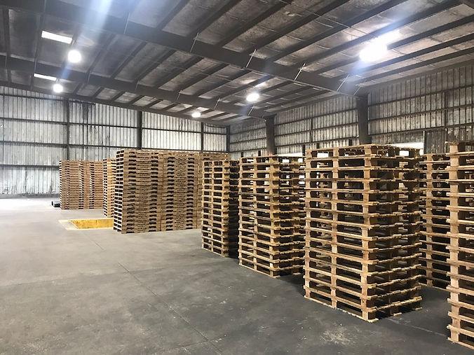 Pallets Warehouse - Madison County Wood