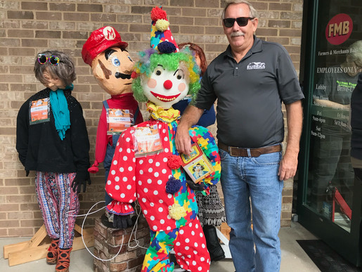 Eureka Contracting & Roofing Celebrates the Eureka Scarecrow Festival
