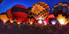 Brookdale Farms Balloon Glow - St. Louis Events - Things to do in St. Louis