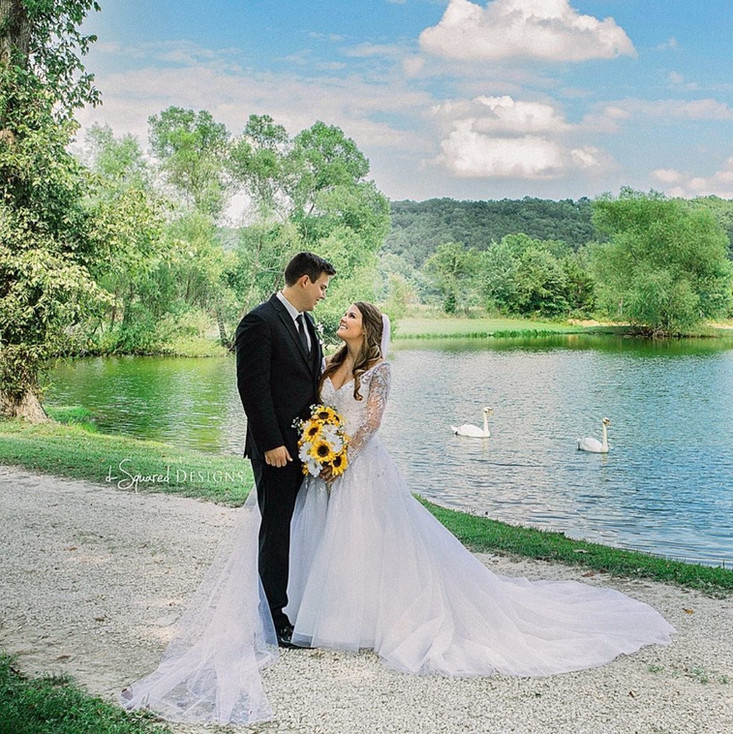 Beautiful Bride and Groom at Wicked Pony