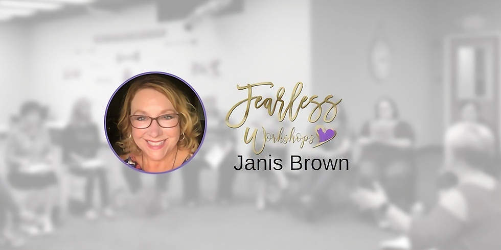 Workshop MAKE YOUR DREAM REALITY with Janis Brown