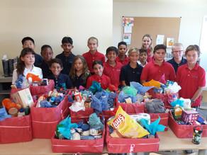 Sint Maarten Montessori Celebrates Thanksgiving on the Move