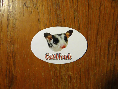 Mosaic SUGAR GLIDER Sticker - CatAleah Merch