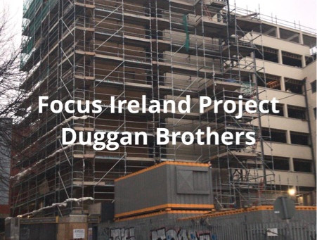 Focus Ireland project going very well