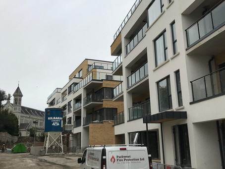 Work well under way on the Mount Argus Apartment Project,