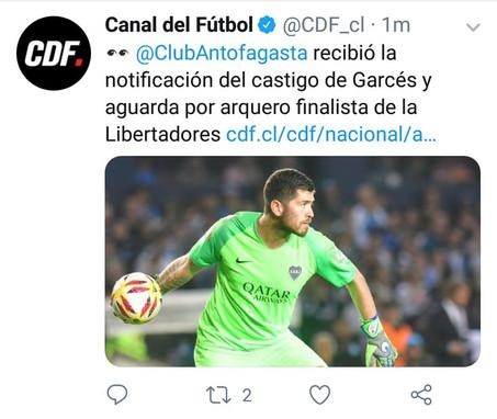 Aseguran Que Portero de Boca seria nuevo Refuerzo del Puma