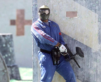 Indoor and Outdoor paintball events in comfort year round.