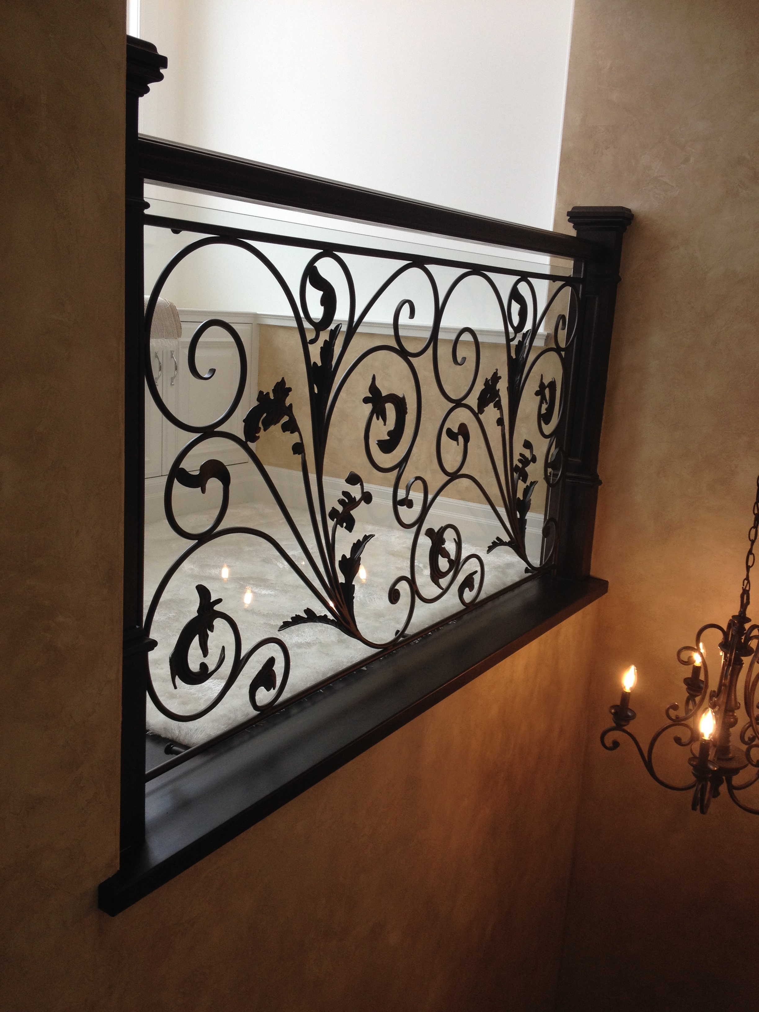 Interior Black Decorative Railing