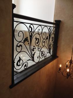 Interior Black Decorative Railing