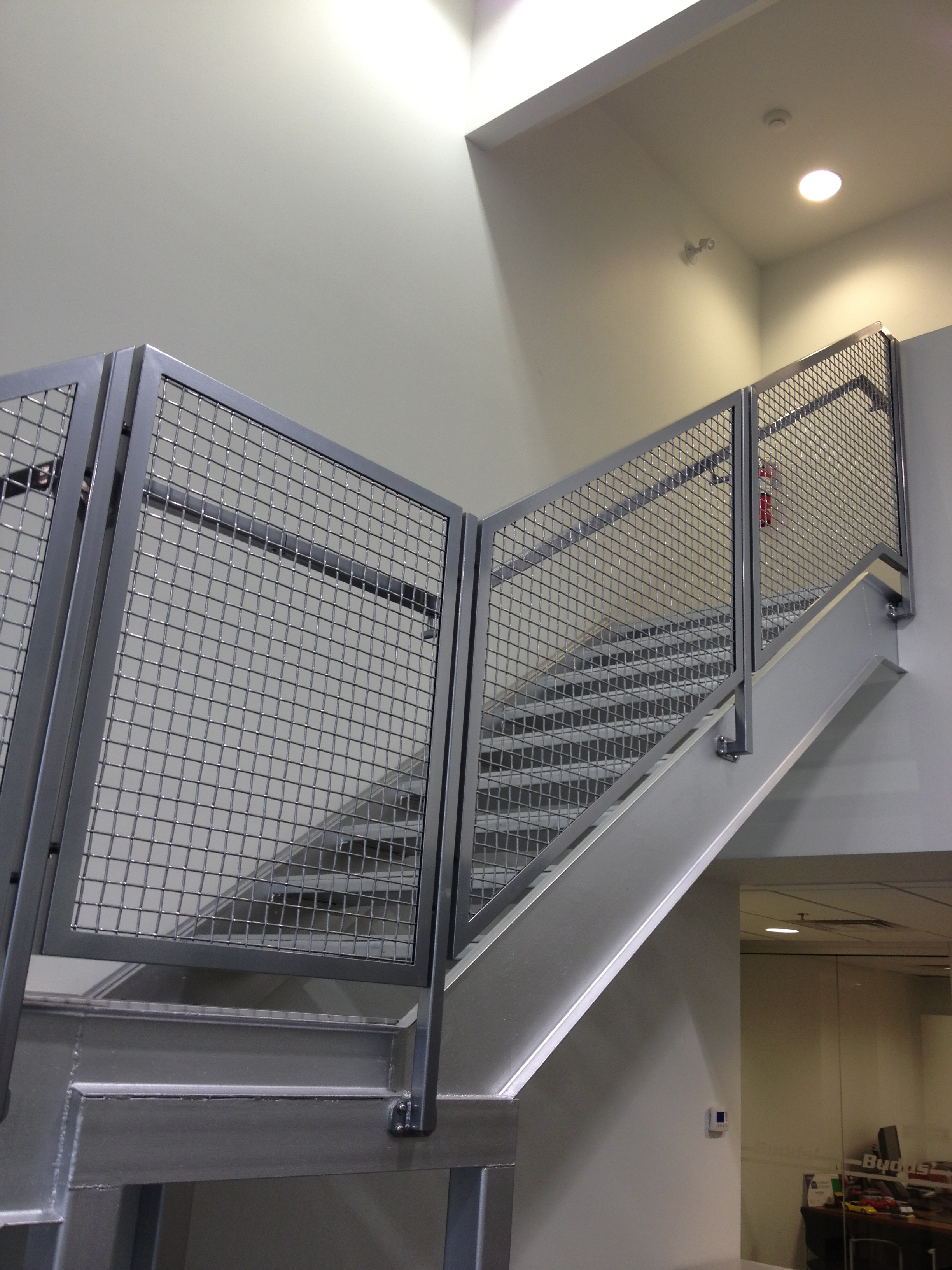 Interior Stainless Mesh Railing
