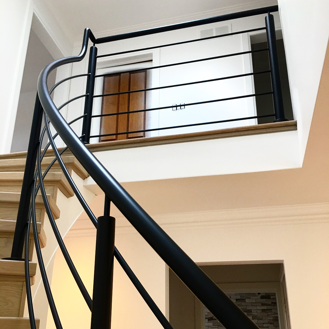 Interior Black Simple Railing