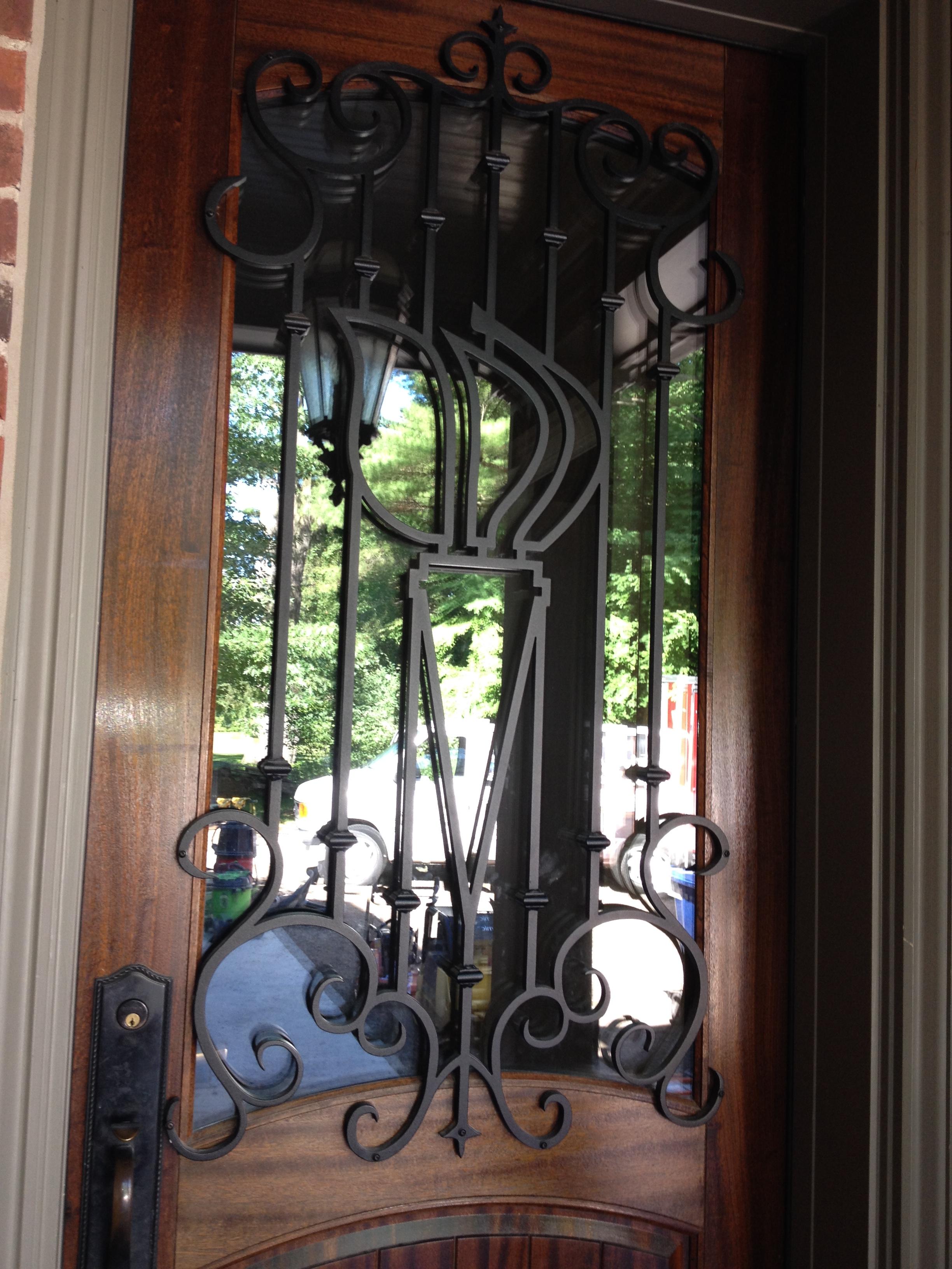 Decorative Door Iron