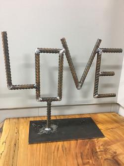 """""""LOVE"""" Art Piece"""