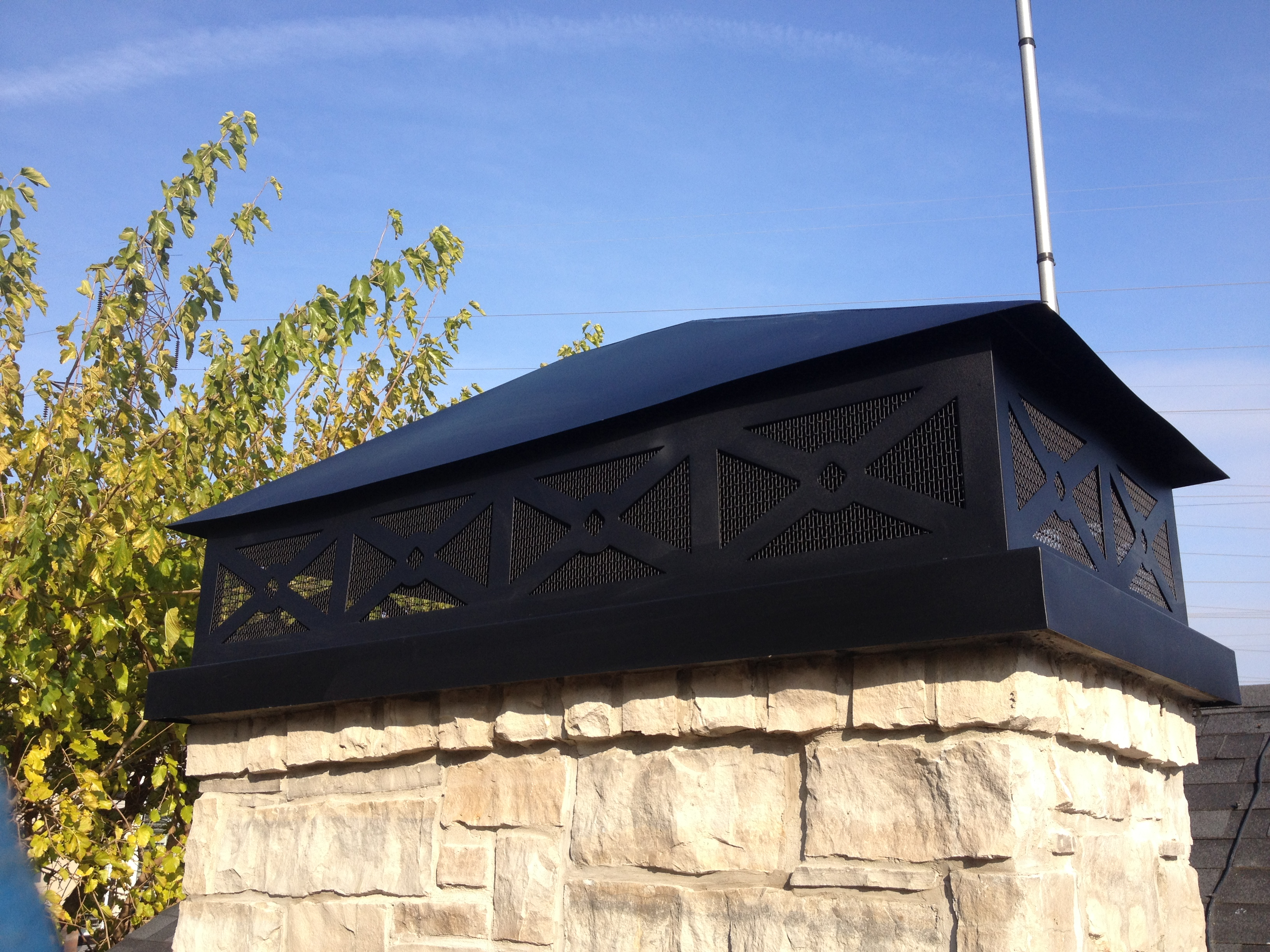 Custom Chimney Cover
