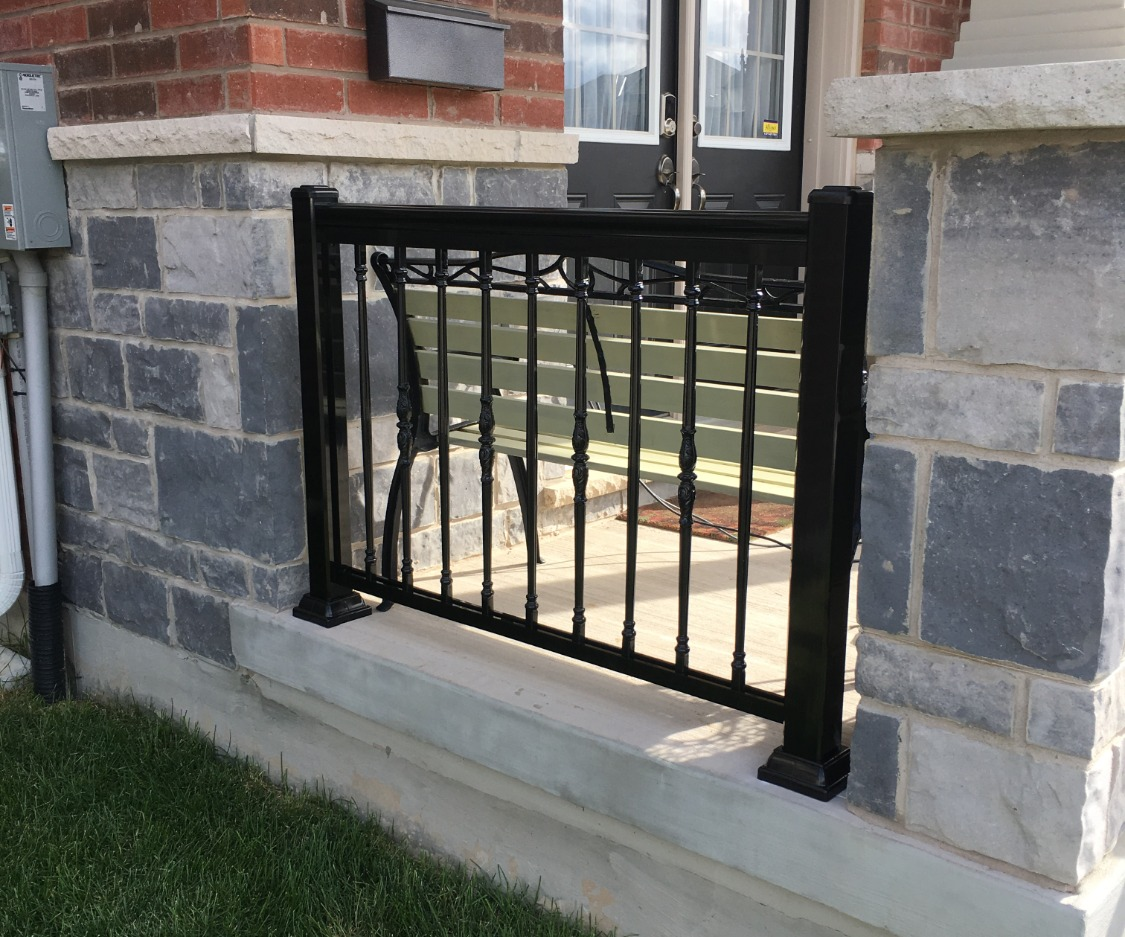Small Black Railing