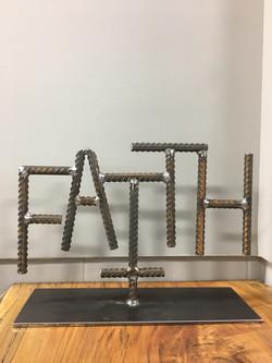 """""""FAITH"""" Art Piece"""