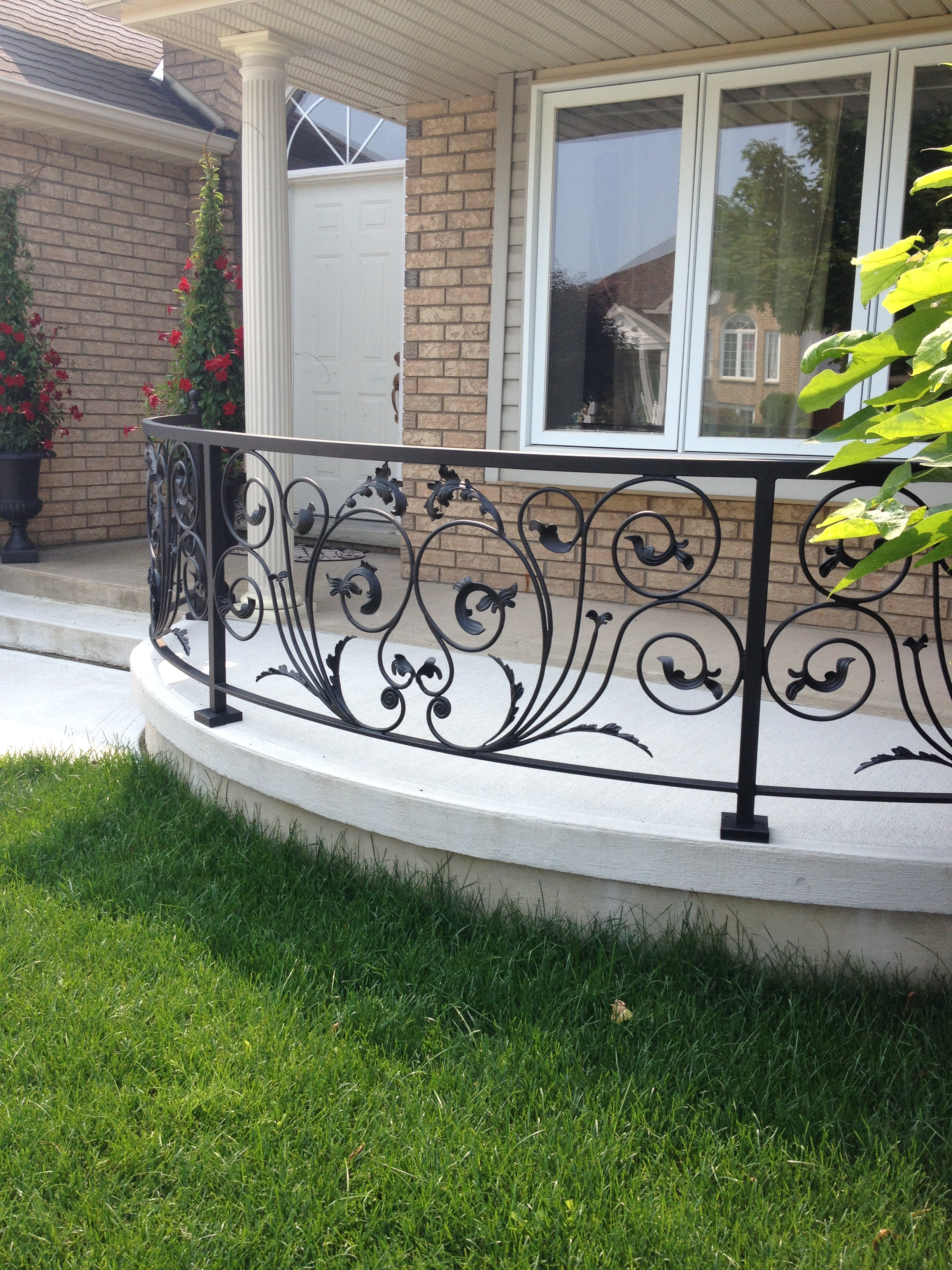 Exterior Decorative Railing