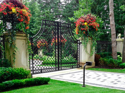 Decorative Motorized Gate
