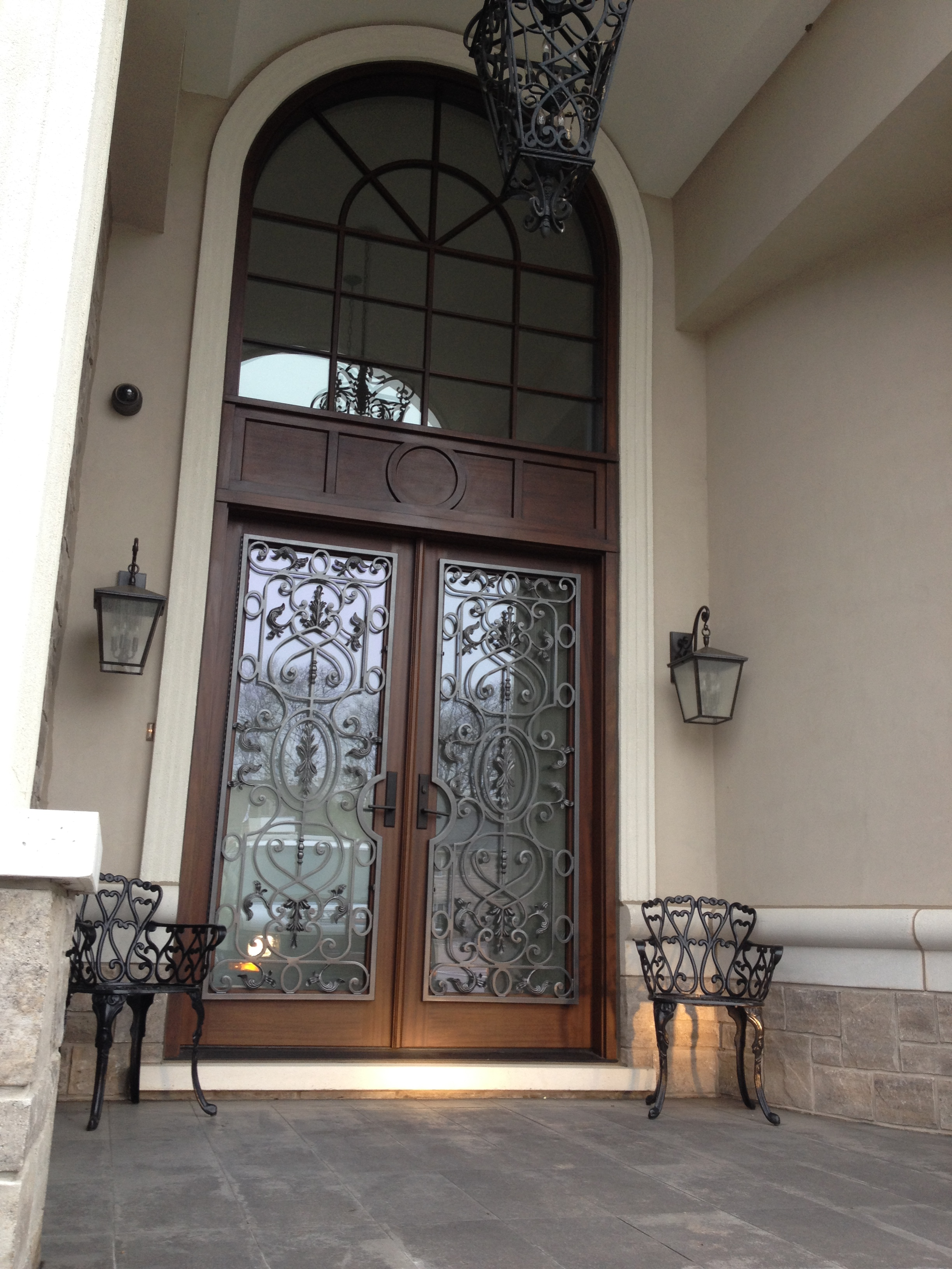 Decorative Door Iron