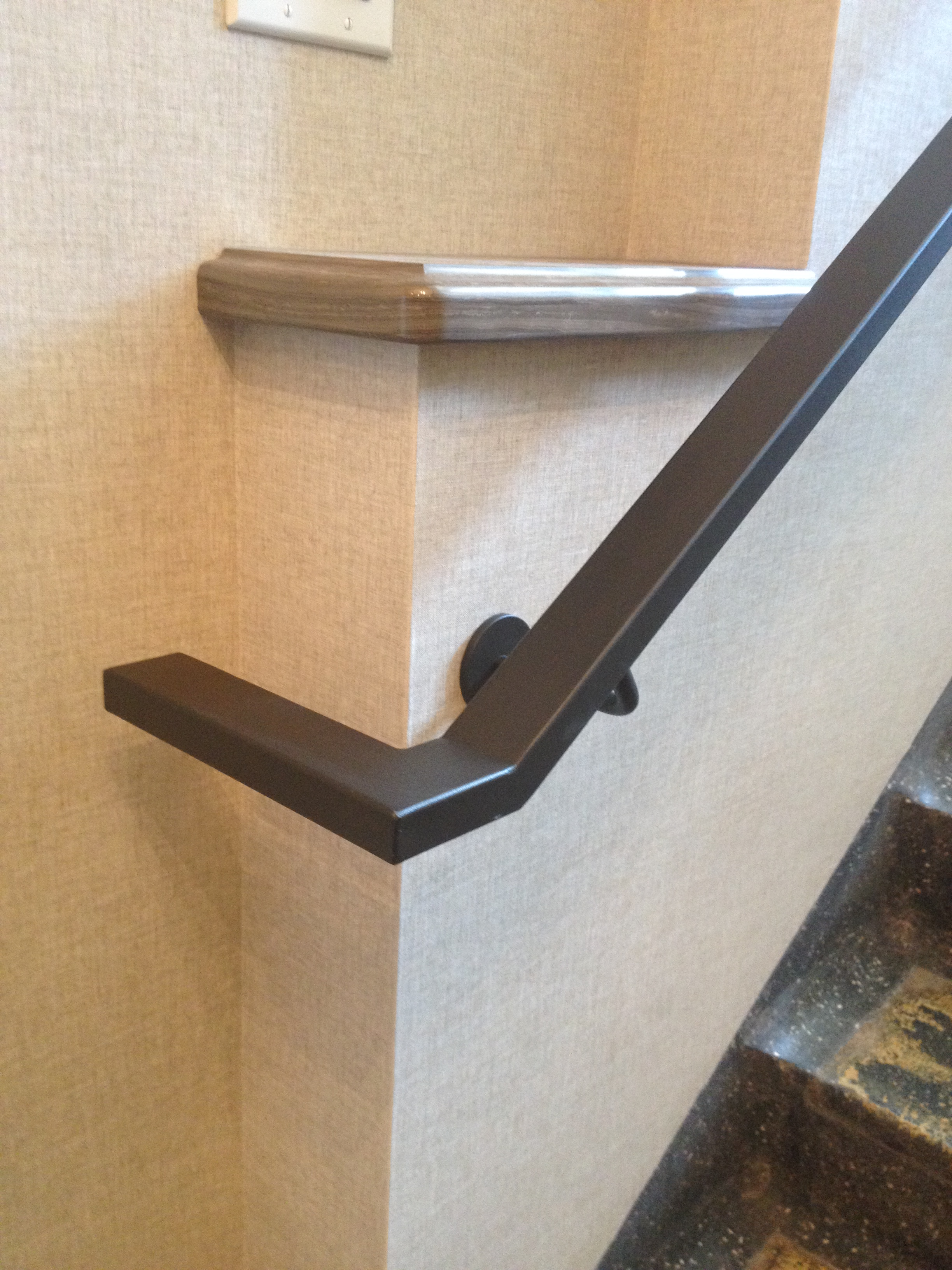 Interior Square Hand Rail