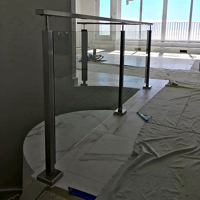 Glass and Stainless Railing