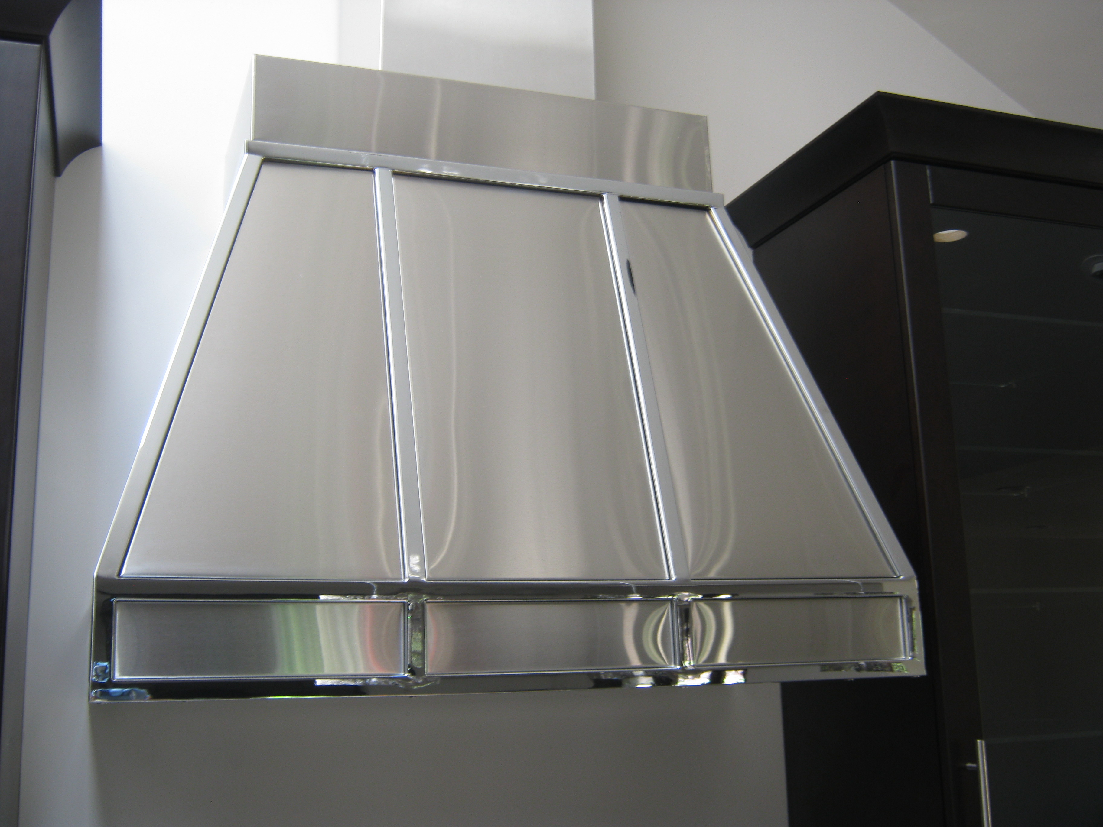 Stainless Wrapped Hood Fan