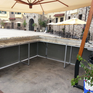 Outdoor Custom Bar