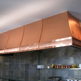 Custom Copper Hood Fan