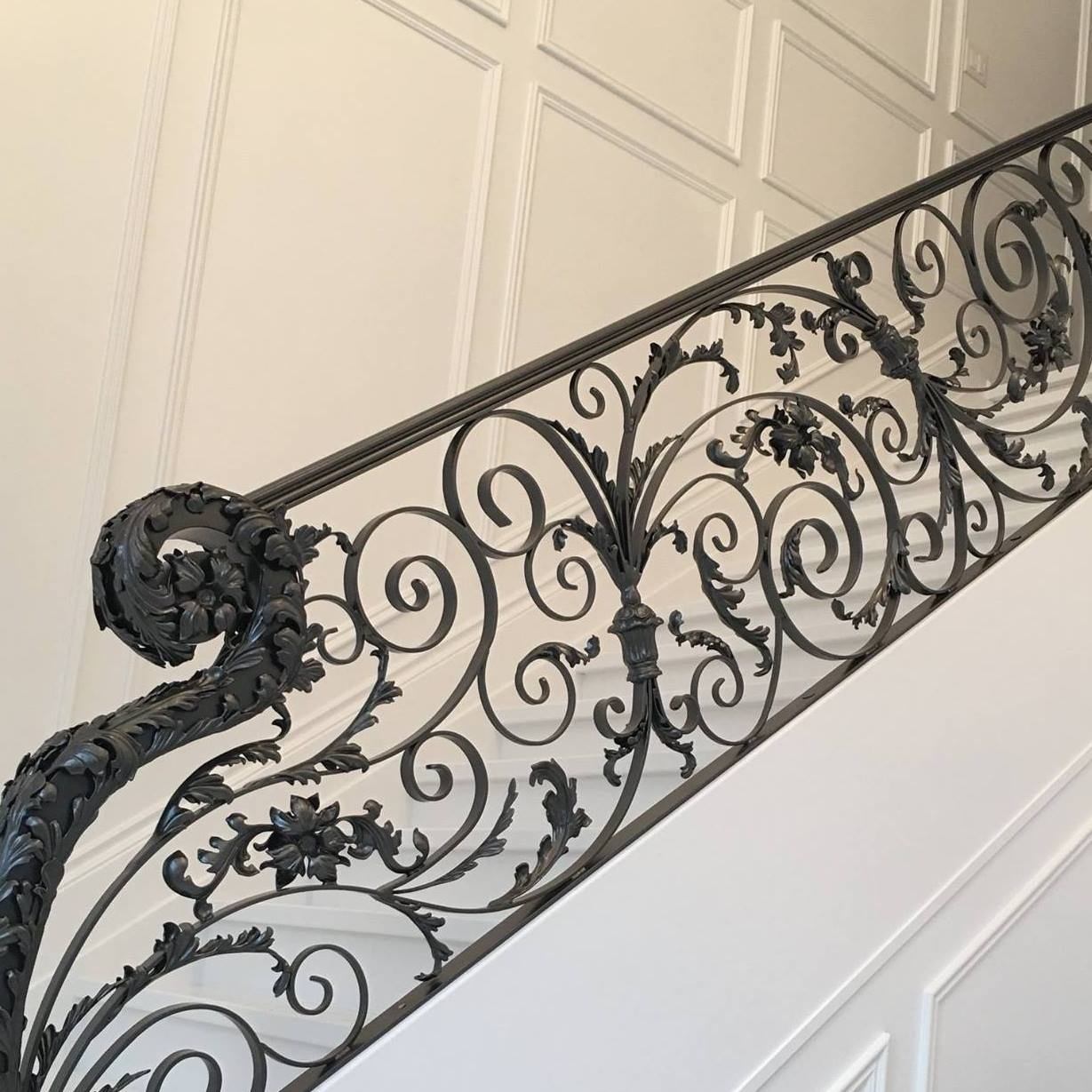Swirl Custom Decorative Railing