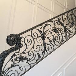 Swirl Custom Decorative Railing