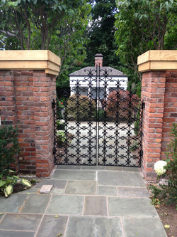 Black Decorative Gates
