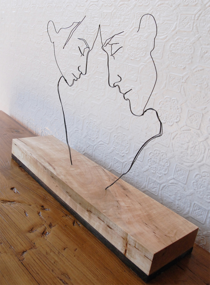2 Heads Wire Decor