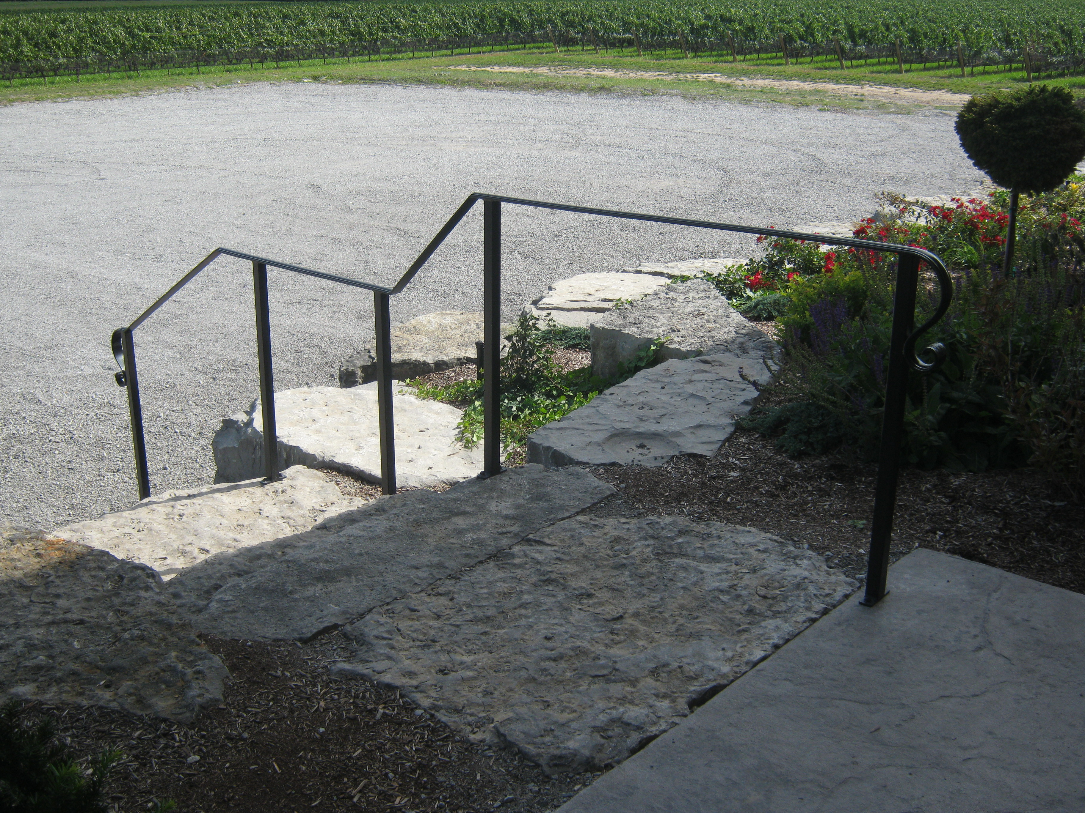 Exterior Hand Rail System