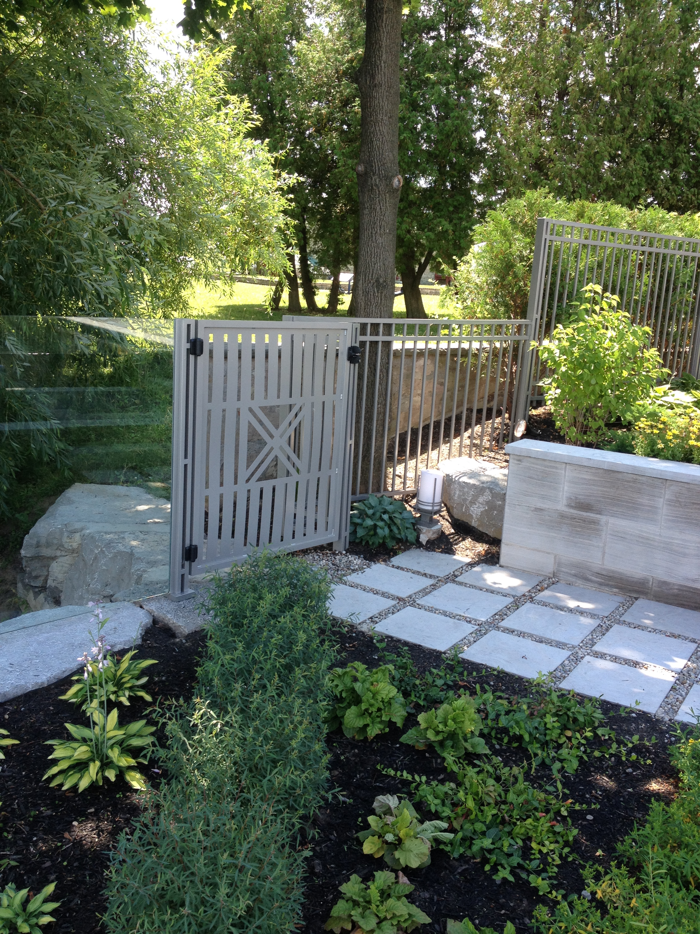 Custom Stainless Gates