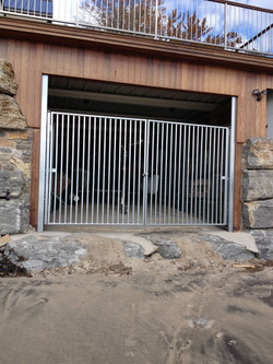 Simple Stainless Gate