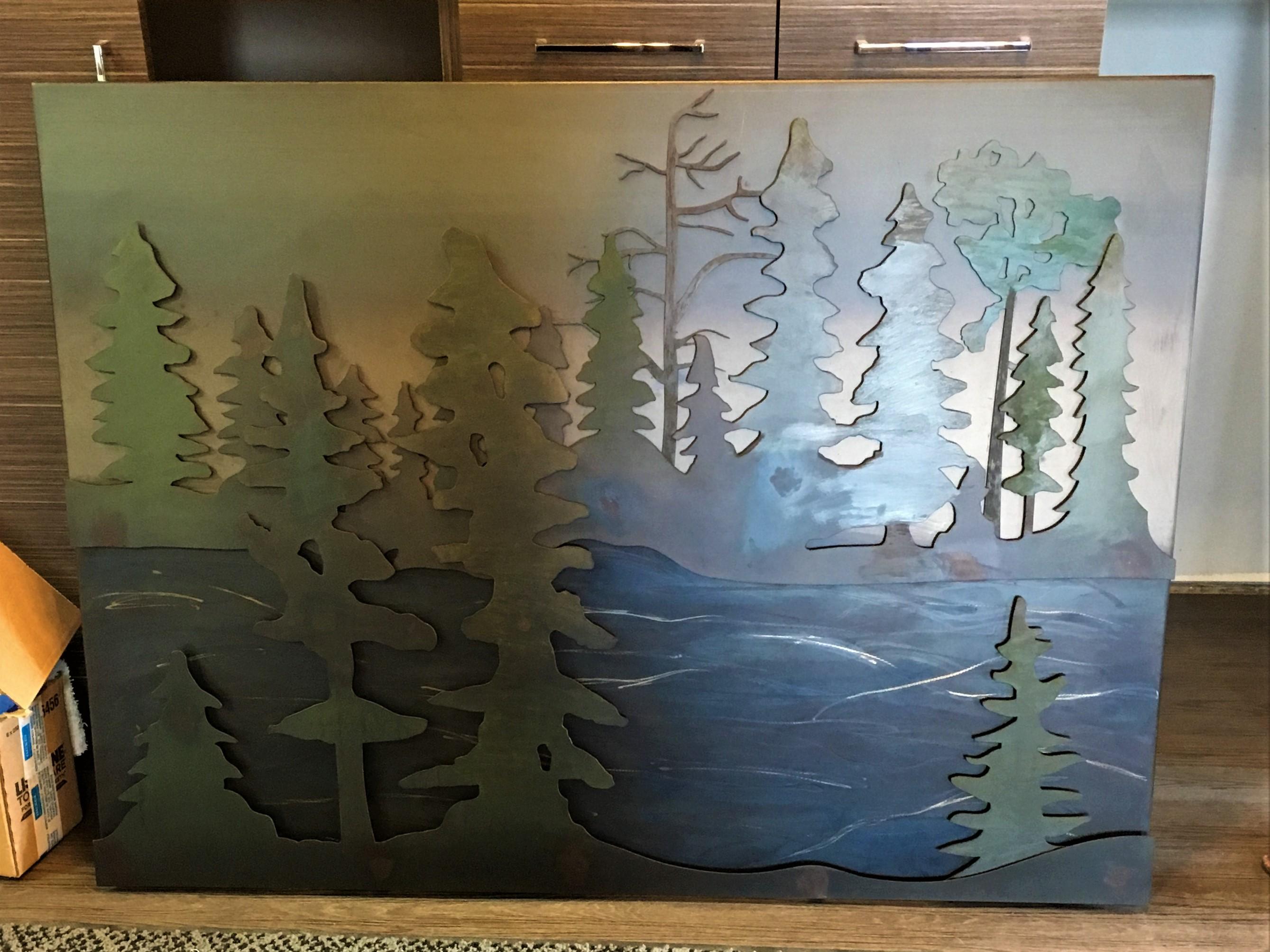 Custom Lake Artwork