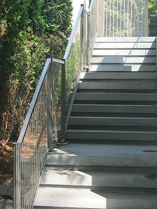 Stainles Mesh Exterior Railing