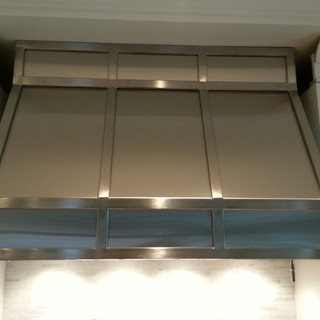 Stainless Steel Hood Fan