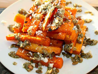 Roasted Butternut Squash & Pumpkin Pesto