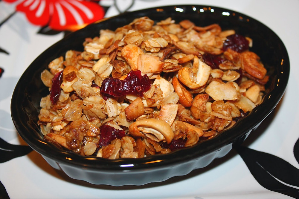 Dried Fruit Granola - Free Recipe