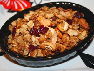 Dried Fruit Granola Recipe