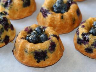 Yum! Blueberry Mini-Bundt