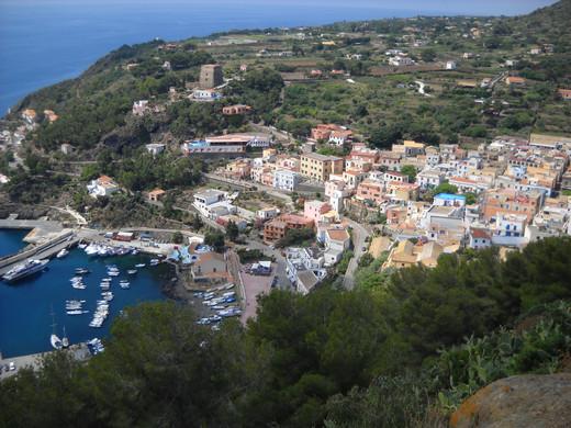 Ustica, Isole Egadi, Sicilia