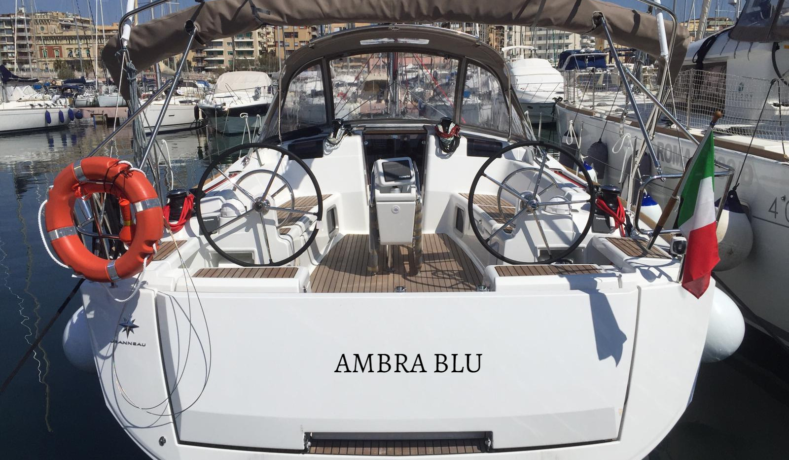 "Sun Odyssey 449 ""Ambra Blu"""