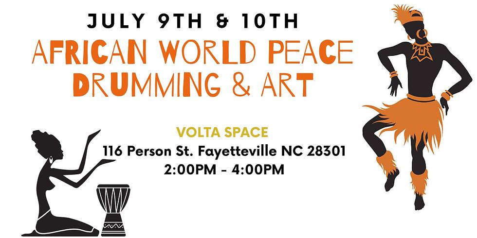 African World Peace Drumming & Art: Volta Space