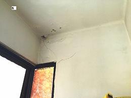 ליקויי בניה בתקרה
